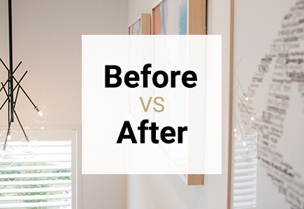 insideoutside design-interior designer before after